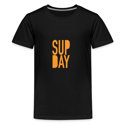 supday_apparel_orange - Teenager Premium T-shirt