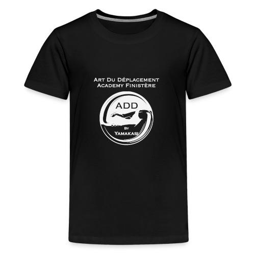 Logo grand DOS Blanc - T-shirt Premium Ado