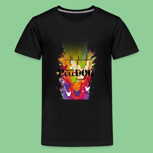 French Bulldog - Kids bunt - Teenager Premium T-Shirt