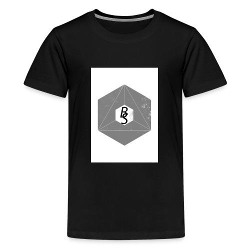 best logo - Premium T-skjorte for tenåringer
