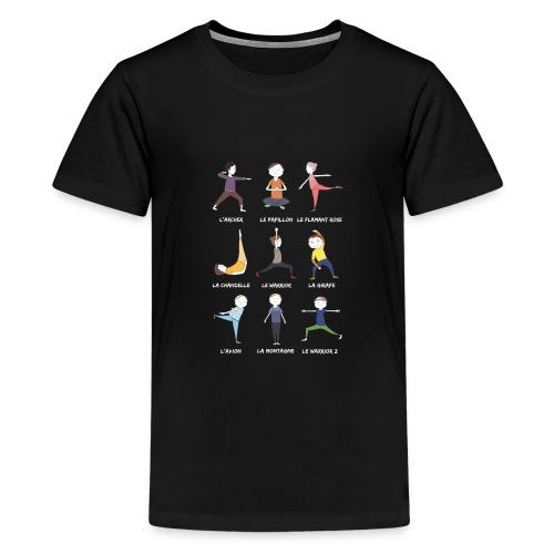 Les petits yogis - T-shirt Premium Ado