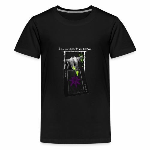 Agent of Chaos - Camiseta premium adolescente
