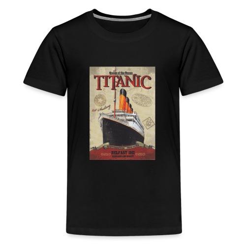 Over the seas - Teenage Premium T-Shirt