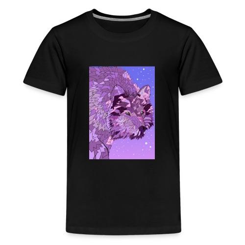 le loup violet - T-shirt Premium Ado