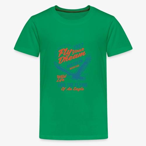 Stehlen Sie Ihren Traum - Teenager Premium T-Shirt