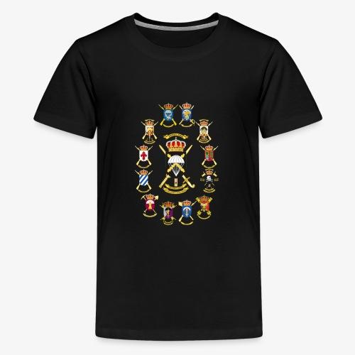 UNIDADES BRIPAC - Camiseta premium adolescente