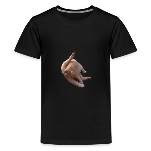Cat sucking Balls - Camiseta premium adolescente