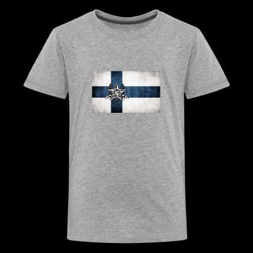 Suomen lippu - Teinien premium t-paita