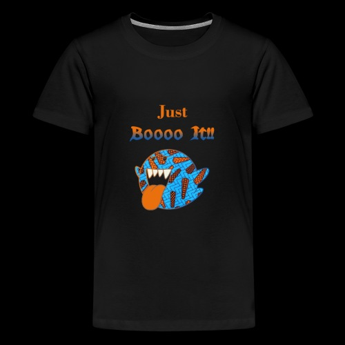 Just Boooo It : Orange Power !!! - T-shirt Premium Ado