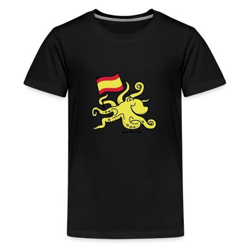 Paul the Octopus is Spanish! - Teenage Premium T-Shirt