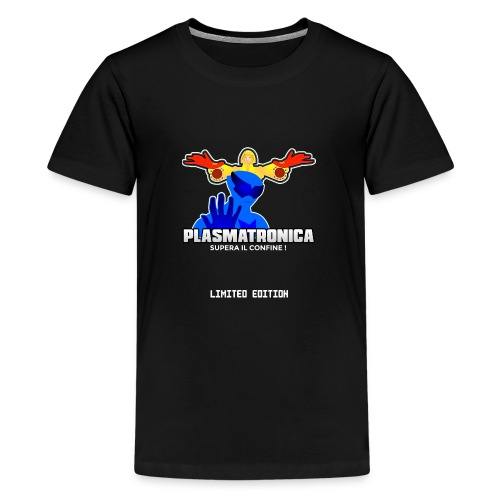 T SHIRT PLASMATRONICA LIMITED INDIEGOGO - Maglietta Premium per ragazzi