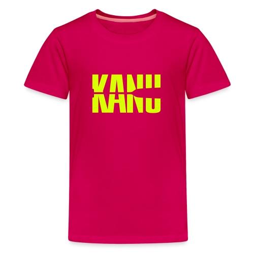 Kanu Kanute Wassersport Paddel 1c - Teenager Premium T-Shirt