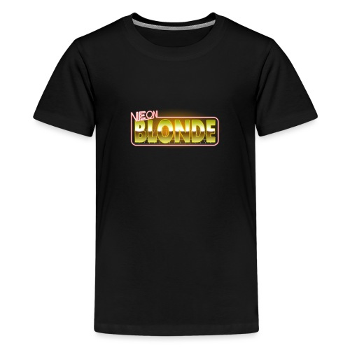 NB Logo - Teenage Premium T-Shirt