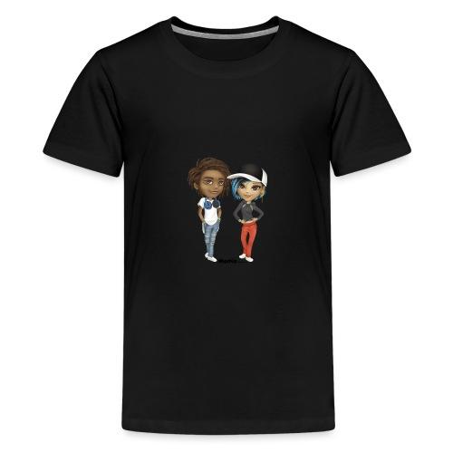 Maya & Noa - Premium T-skjorte for tenåringer