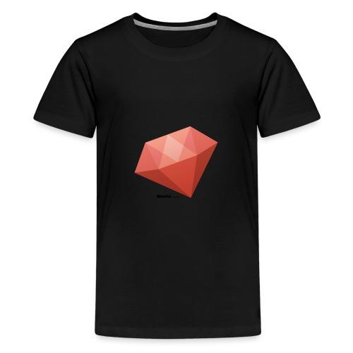 Diamant - Teenager premium T-shirt