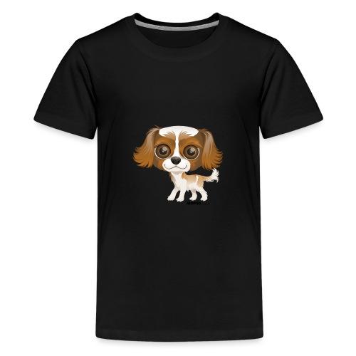 Hund - Premium T-skjorte for tenåringer