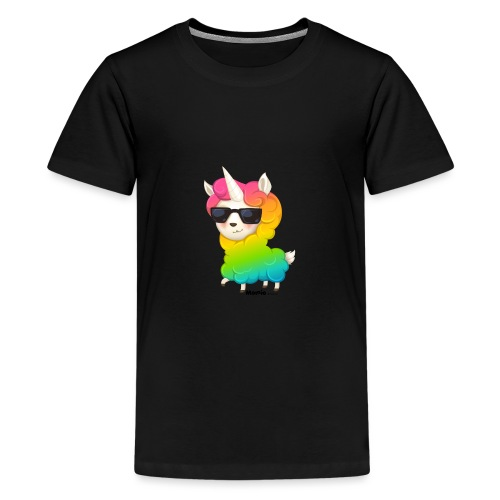 Regenbogenanimation - Teenager Premium T-Shirt