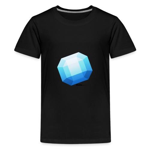 Safir - Premium T-skjorte for tenåringer