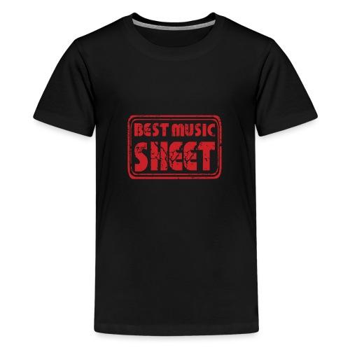 Best Music Sheet Logo 2 - T-shirt Premium Ado