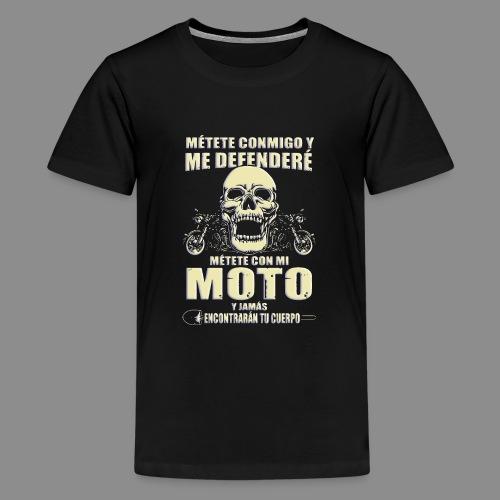Me defenderé - Camiseta premium adolescente