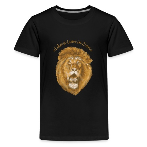 lion zion - T-shirt Premium Ado