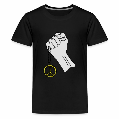 Peace and Power - Premium-T-shirt tonåring