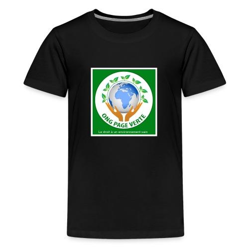 sac bio - T-shirt Premium Ado