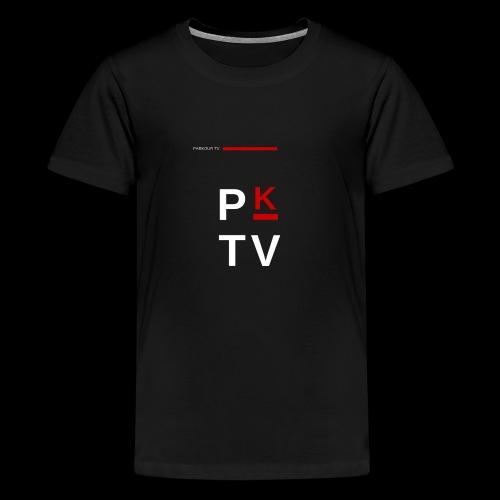 Parkour Tv - T-shirt Premium Ado