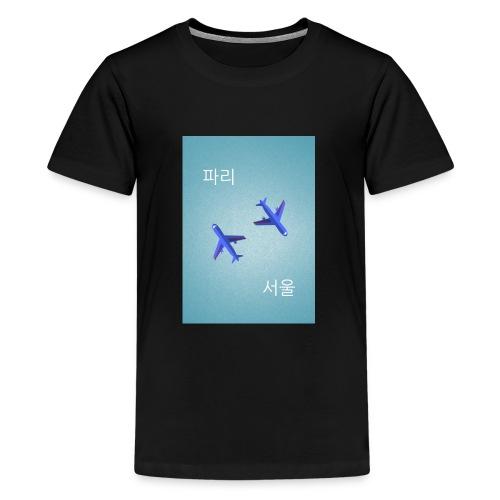 Paris Seoul - T-shirt Premium Ado