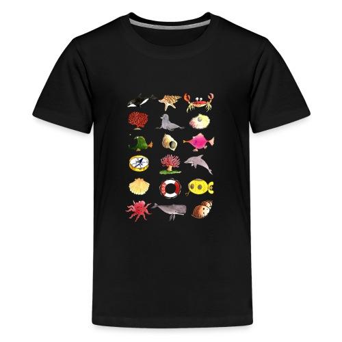 Save the Oceans! - Teenager Premium T-Shirt
