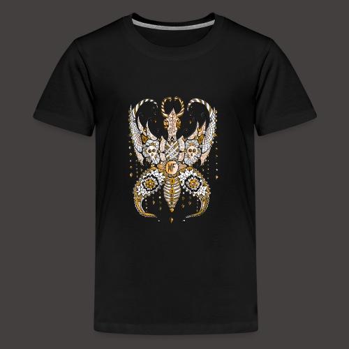 Papillon Lilou Dore - T-shirt Premium Ado