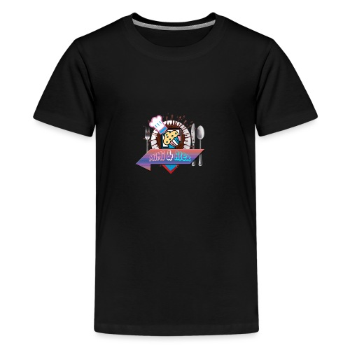 Pour Les Amour fou de la Bouff - T-shirt Premium Ado