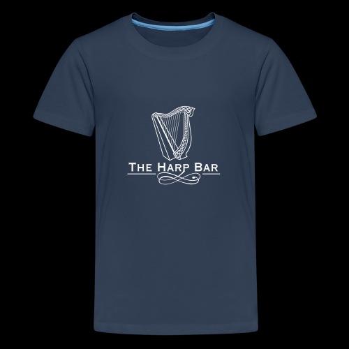 Logo The Harp Bar Paris - T-shirt Premium Ado