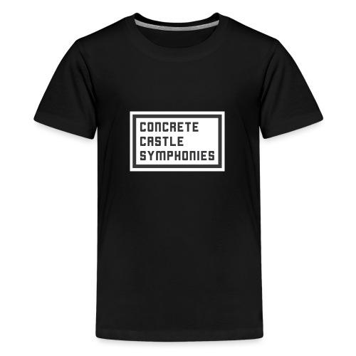Concrete Castle Symphonies - Teenager Premium T-Shirt