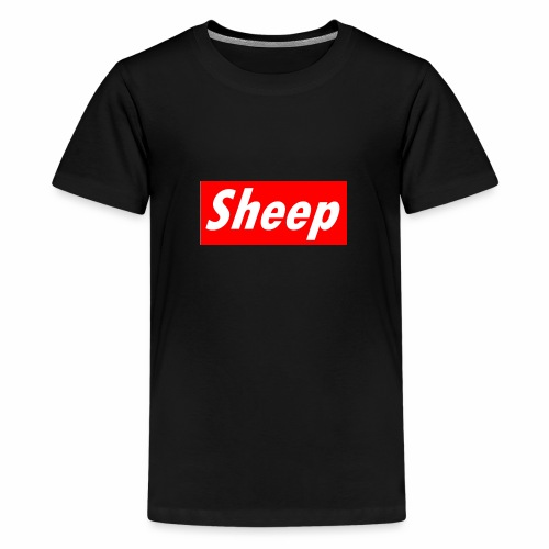 Sheep - Teenage Premium T-Shirt