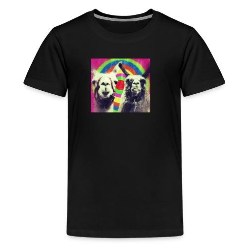 Llamas png - Teenage Premium T-Shirt