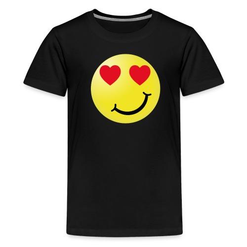 coeur png - T-shirt Premium Ado
