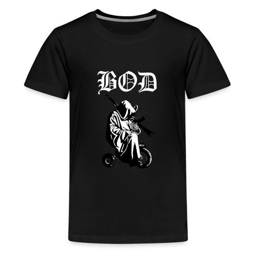 Logo des Gamer Clans Brotherhood of Darkness - Teenager Premium T-Shirt