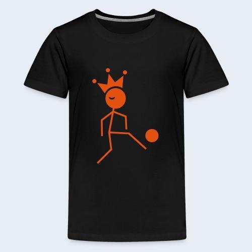 Voetbalkoning - Teenager Premium T-shirt