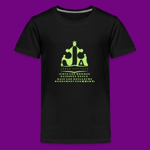 tous les hommes naissent égaux... - T-shirt Premium Ado