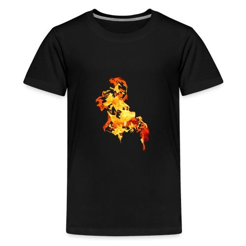 Blazing - Koszulka młodzieżowa Premium