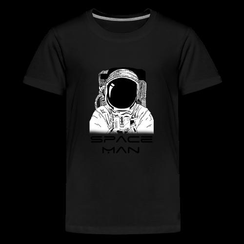Space man black - Teenage Premium T-Shirt