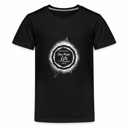OneMoreLife - Maglietta Premium per ragazzi