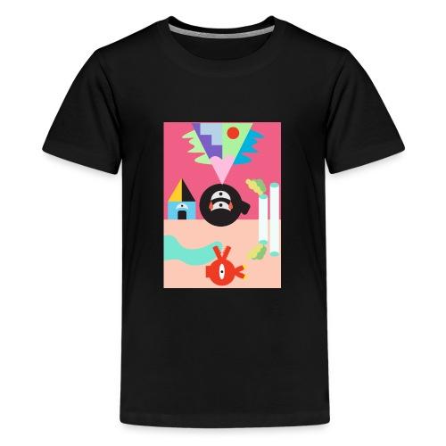 Sun and Moon - Teenage Premium T-Shirt