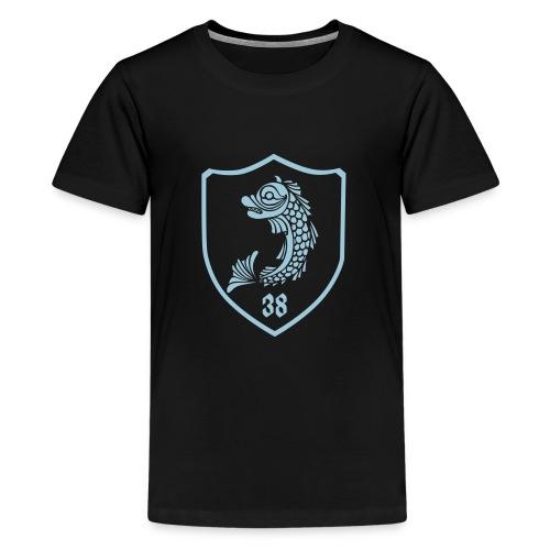 grenoble, dauphin blason 38 - T-shirt Premium Ado