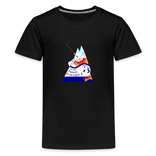 Logo colori - Maglietta Premium per ragazzi