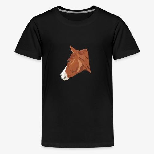 Quarter Horse - Teenager Premium T-Shirt