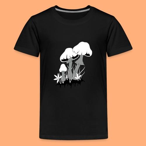 champignons - T-shirt Premium Ado