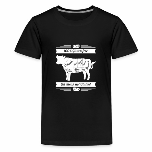 Lustiges Design für Fleisch-Fans - Teenager Premium T-Shirt