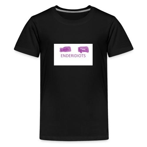enderproductions enderidiots design - Teenage Premium T-Shirt